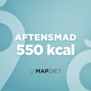 Aftensmad 550 kcal