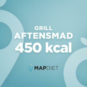 Aftensmad grill 450 kcal