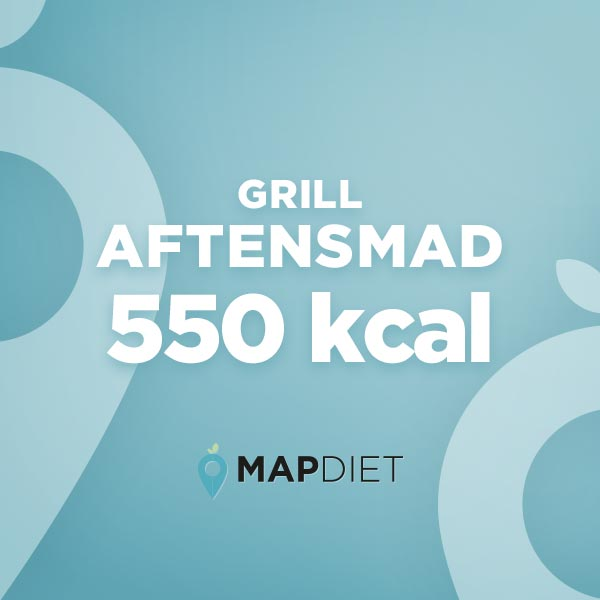 Aftensmad grill 550 kcal